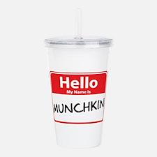 munchkin.png Acrylic Double-wall Tumbler