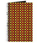 Polka Dots (Orange) Journal