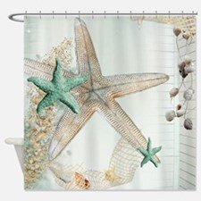 Summer Sea Treasures  Shower Curtain