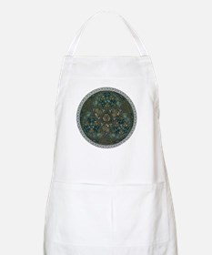 Celtic Trefoil Circle BBQ Apron