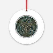 Celtic Trefoil Circle Ornament (Round)