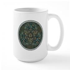 Celtic Trefoil Circle Large Mug
