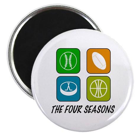 "Four Seasons 2.25"" Magnet (10 pack)"