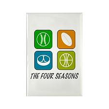 Four Seasons Rectangle Magnet