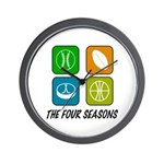 Four Seasons Wall Clock
