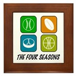 Four Seasons Framed Tile