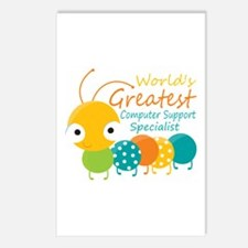 Computer Support Speciali Postcards (Package of 8)