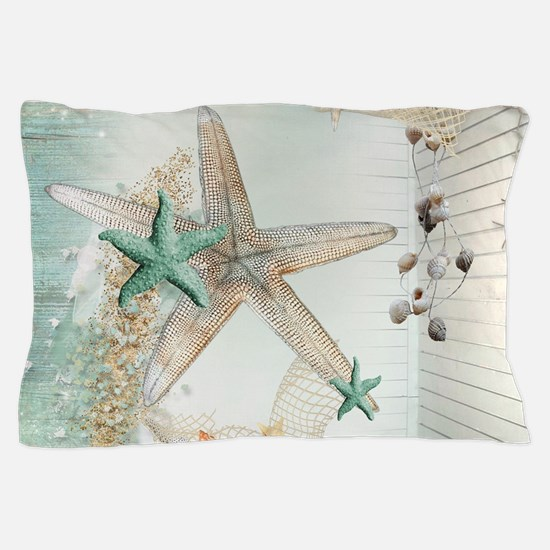 Summer Sea Treasures Pillow Case