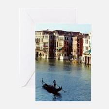 Venice Souvenir Gondola Ride on Grand Canal Greeti