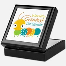 World's Greatest Cost Estimator Keepsake Box