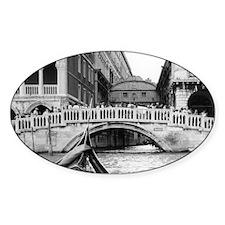 Romantic Gondola Ride on Ve Decal