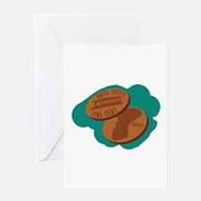 Pennies Greeting Cards