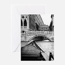 Romantic Gondola Ride on Venice Italy Canal Greeti