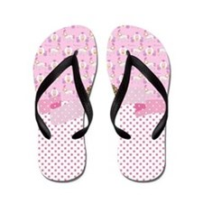 Cute Girls horse Flip Flops