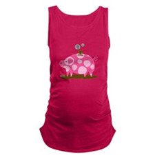 Piggy Bank Maternity Tank Top