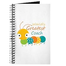 Worlds Best Coach Journal