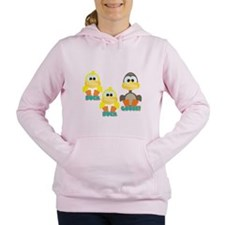 duck duck goose.png Women's Hooded Sweatshirt
