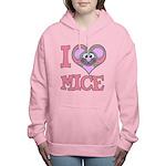 love mice.png Women's Hooded Sweatshirt