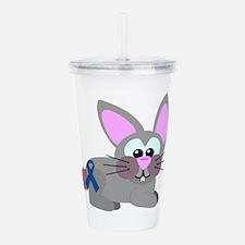 blue ribbon bunny rabbit copy.png Acrylic Double-w