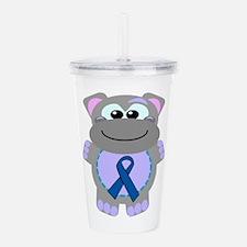 blue ribbon hippo copy.png Acrylic Double-wall Tum