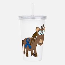 blue ribbon horse copy.png Acrylic Double-wall Tum