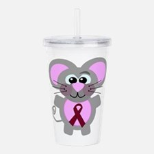 burg ribbon mouse.png Acrylic Double-wall Tumbler