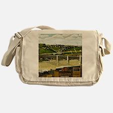Liberty Bridge, Pittsburgh, 1932 Messenger Bag