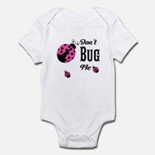 Cute Pink Ladybugs Don't Bug Me Body Suit