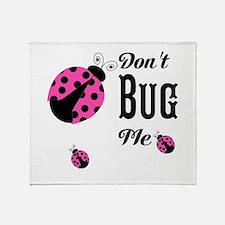 Circles and Polka Dots Neutrals Throw Blanket