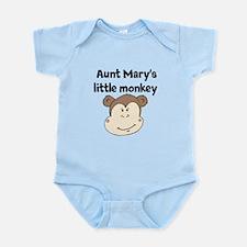 Aunts Little Monkey (Custom) Body Suit