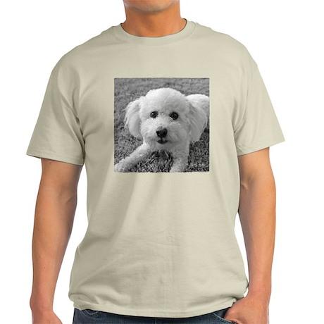 """""""Playful Bichon"""" Light T-Shirt"""