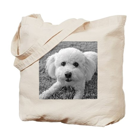 """Playful Bichon"" Tote Bag"
