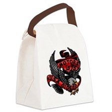 Cute Eagle riders Canvas Lunch Bag