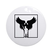 Soldiers Angel Ornament (Round)