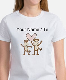 Custom Monkey Love T-Shirt