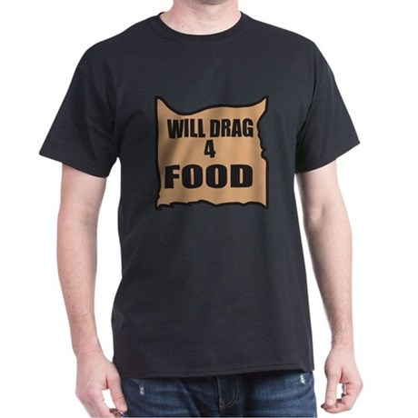 Will Drag 4 Food Dark T-Shirt