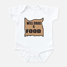 Will Drag 4 Food Infant Bodysuit