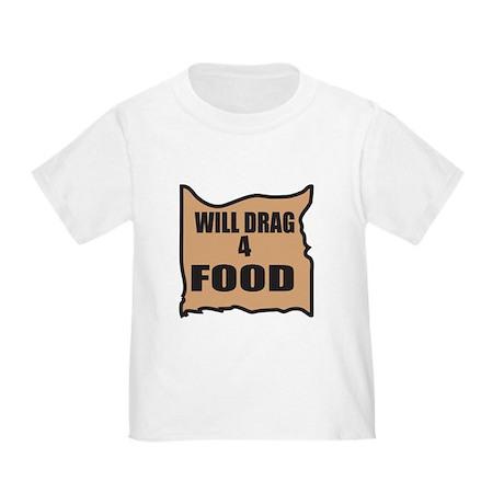 Will Drag 4 Food Toddler T-Shirt