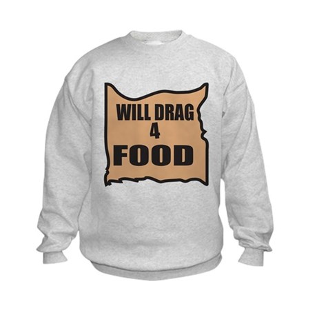 Will Drag 4 Food Kids Sweatshirt