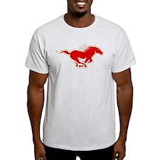 Kansas City Mustangs Logo T-Shirt