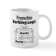 Frenchie Logic Small Mugs