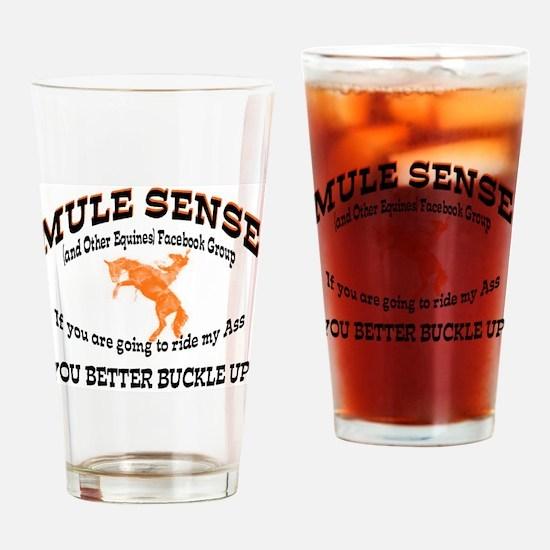 Funny Donkeys mules Drinking Glass
