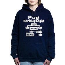 Pug Logic Women's Hooded Sweatshirt