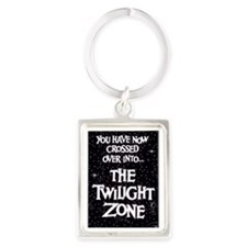 Twilight Zone logo Portrait Keychain