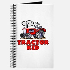 Red Tractor Kid Journal