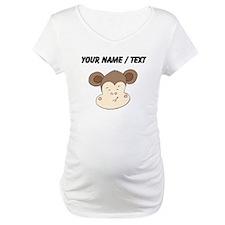 Custom Smirking Monkey Face Shirt