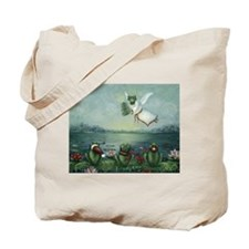 Cute Flying frog Tote Bag
