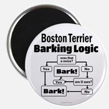 Boston Terrier Logic Magnet