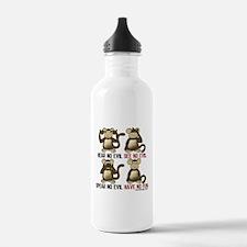 Unique See no evil Water Bottle