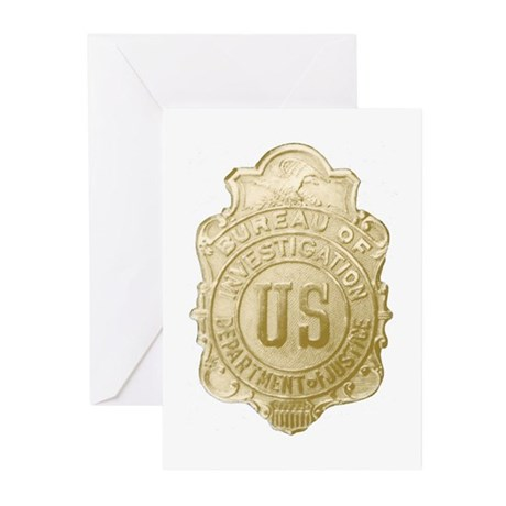 Bureau of Investigation Greeting Cards (Package of